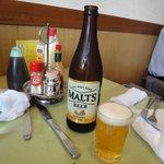シュベスター - 瓶ビールはモルツでした。600円