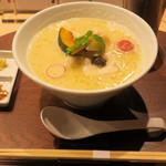 銀座 篝 - 鶏白湯SOBAトリュフ1,280円