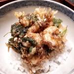 天雅 - 【食事】かき揚げ天丼