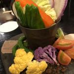 焼き鳥 ふじわら - お野菜