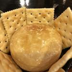 焼き鳥 ふじわら - カマンベールチーズ、だったかな〜