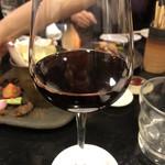 焼き鳥 ふじわら - 赤ワイン