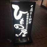 四谷津之守坂入口のひもの屋 -