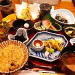 うを匠 せん 神楽坂店  - 十菜膳 1300円