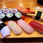 惣八鮨 - 料理写真:惣八鮨 @氷川台 ランチ にぎり 800円