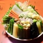 蘆月 - 野菜色々。