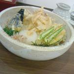 うどん めん天 - 『野菜天ぶっかけ、670円なり』