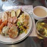 アクアフィオーレ - 料理写真:前菜+スープ+ドリンク(ぷちバイキング)2019.02.05