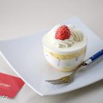 ナッシュカッツェ - いちごのショートケーキ(450円)★3.9