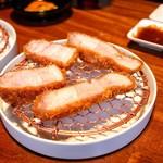 銀座かつかみ - ☆米澤豚(ロース)