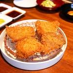 銀座かつかみ - ☆米澤豚(カブリ)