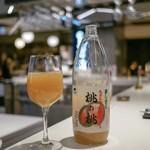 キャビアハウス&プルニエ サンドイッチハウス - ☆山梨特産 桃の桃