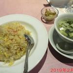 チャイナ天府 - 蟹肉炒飯 \880