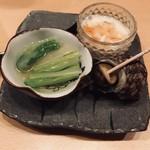 新橋 かま田 - 前菜