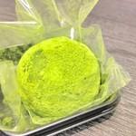 茶和々 - 宇治抹茶ショコラ大福 300円