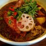 101621163 - チキンと野菜のスープカレー