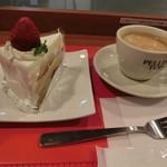 カフェ ペリーニ - ショートケーキ&コーヒー