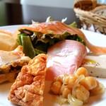 TRATTORIA IL PALLONCINO  - ランチの前菜アラカルト