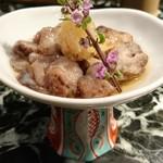 魚貝三昧 げん屋 - 赤なまこ酢