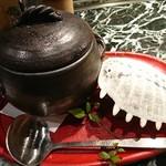 魚貝三昧 げん屋 - すっぽん壺蒸し