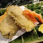 魚貝三昧 げん屋 - 牡蠣天ぷら