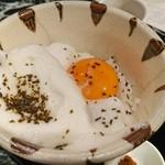 魚貝三昧 げん屋 - 名古屋コーチン卵かけご飯
