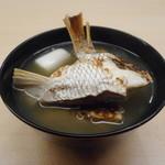 羽田市場 ギンザセブン - 鯛アラ汁