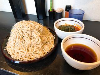 足立製麺所 - ◆特もりそば 850円