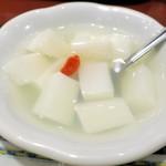 唐庄酒家 - 杏仁豆腐