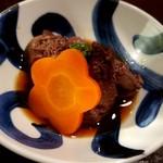 花膳 - 山形地鶏レバーの甘辛煮