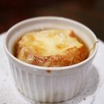 グリルフレンチ - オニオングラタンスープ