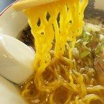 いちまく - 鶏ガラ醤油・麺