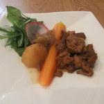 たまな食堂 - 大豆ミートの肉じゃが