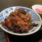 九州一食堂 - 定食の黒豚角煮