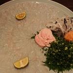 活ふぐ専門料理 とらふぐ屋 - 料理写真:大皿テッサ