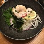 天通 - 料理写真:白子ポン酢