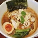 天下ご麺 - 鰹武士醤油ラーメン700円