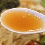 天下ご麺 - 鰹武士醤油ラーメン