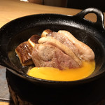 千寿 竹やぶ - 千寿葱と鴨の相い焼き