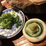 千寿 竹やぶ - 山葵は中伊豆産