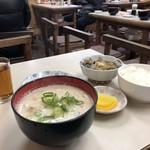 くすのきや食堂 - 料理写真:かす汁定食