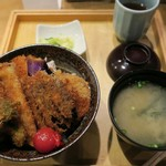 タレカツ - ・「野菜かつ丼(¥830)」