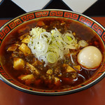 101664070 - 華丸 マーボー麺780円 + 味玉100円