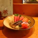 茂吉寿司 - お刺身盛り合わせ