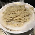 鯛白湯らーめん ○de▽ - 料理写真:つけ麺大1000円