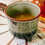 インドレストラン アラジン - セットのスープ