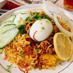 インドレストラン アラジン - マトンビリヤニ:1,190円