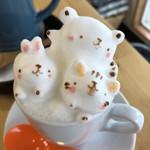 カフェ チョコッティー - 3Dラテアート