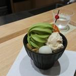 和の茶 伊藤園 - 抹茶パフェ
