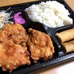 台湾料理 萬福源 - 料理写真:鶏肉の唐揚げ弁当 500円